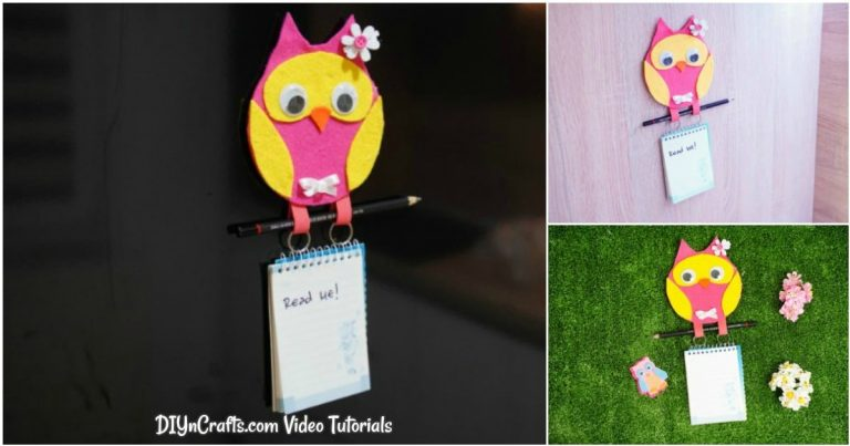 DIY CD Owl Wall Messenger With Video Tutorial