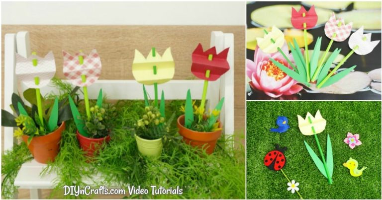 Decorative Spring Paper Tulips – With Video