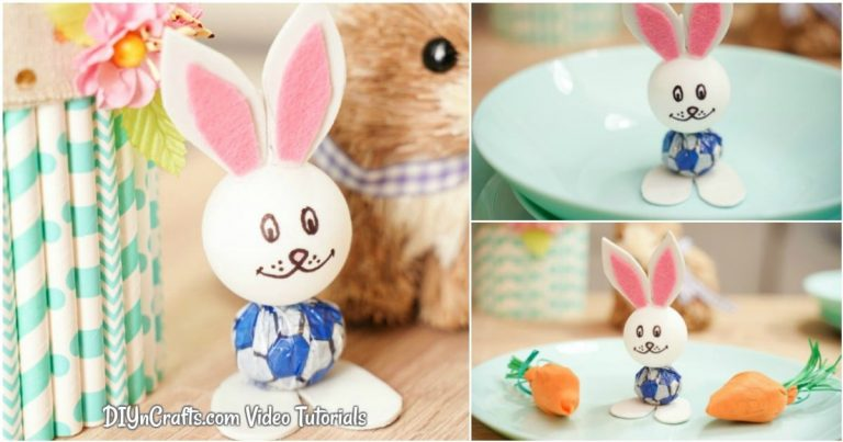 Cute Lollipop Bunny Easter Kids' Craft