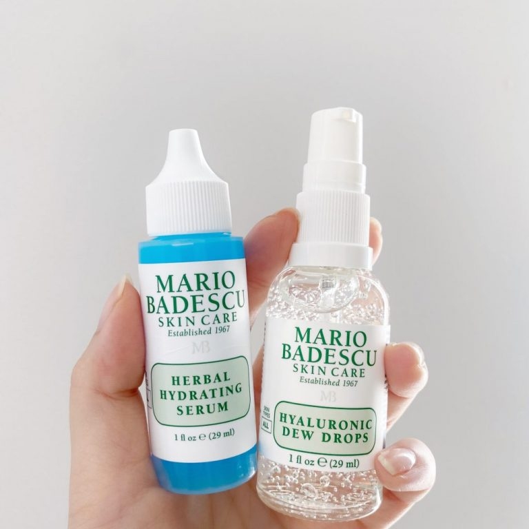 What's the Difference: Herbal Hydrating Serum vs. Hyaluronic Dew Drops