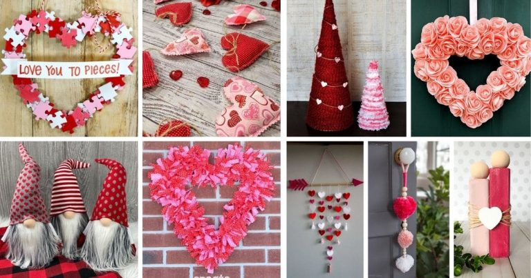 30+ Romantic DIY Valentine's Day Decorations