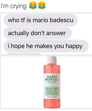 Why is Mario Badescu bad?