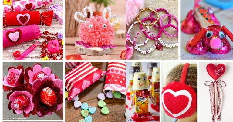 25 DIY Valentine's Day Gifts for Kids